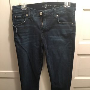 7 for all mankind Gwenevere skinny jeans size 30